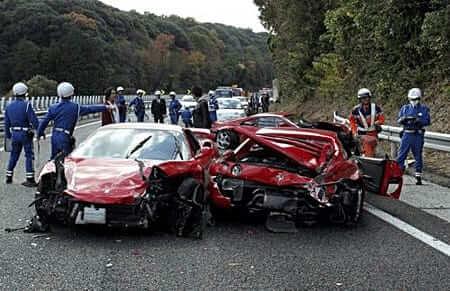อุบัติเหตุทางรถยนต์