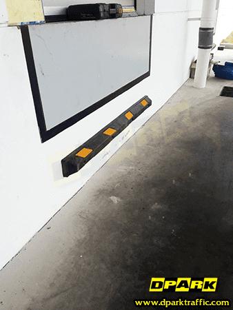 ยางกั้นล้อรถยนต์ rubber wheel stopper