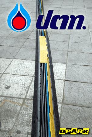 ยางป้องกันรถทับสาย ( Rapid Cable Protector ) @ ปตท . จ. นครราชสีมา