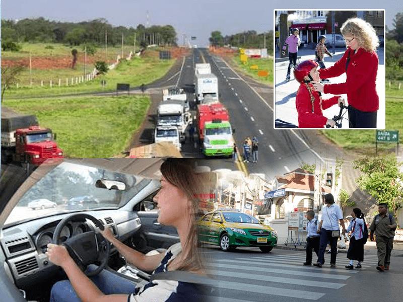 อุบัติเหตุจราจร และการป้องกัน รวมถึงการใช้เดินหรือข้ามถนน ให้ปลอดภัย